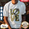 Nice Love God Sunflowers Leopard Diamond shirt