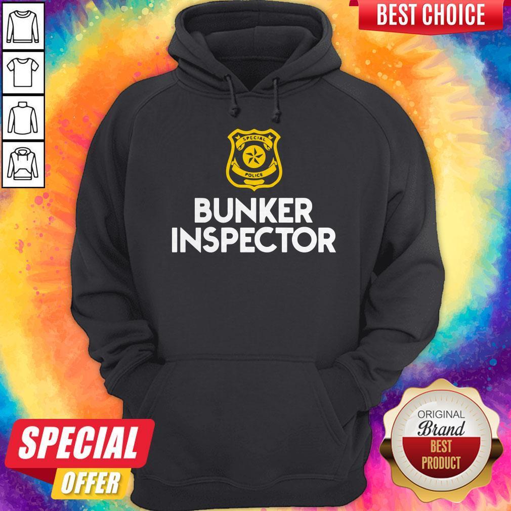 Special police bunker inspector Hoodiea