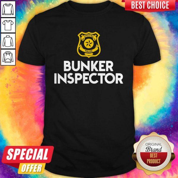 Special police bunker inspector shirt