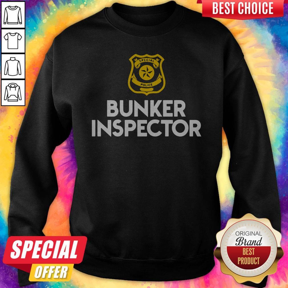 Special police bunker inspector Sweatshirt