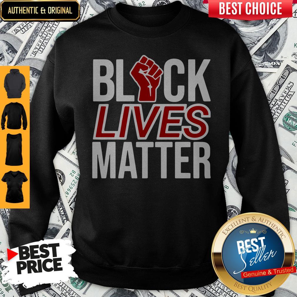 Strong Hand Black Lives Matter Sweatshirt