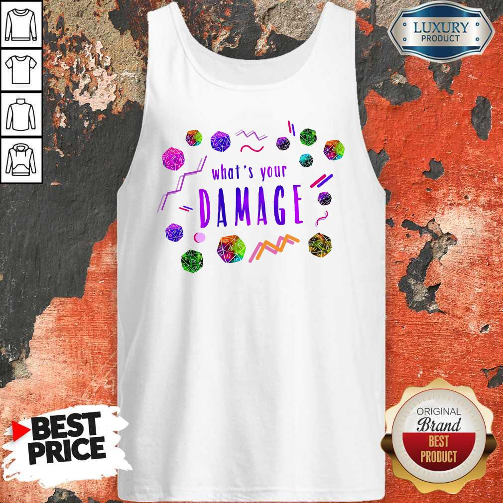 What's Your Damage  Tank Top