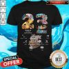 23 Years Of 1997 2020 More 980 Chapter One Piece Signatures Shirt
