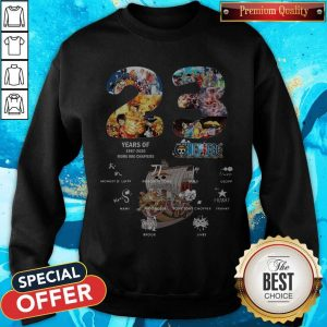 23 Years Of 1997 2020 More 980 Chapter One Piece Signatures Sweatshirt