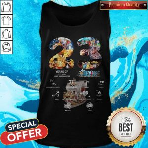 23 Years Of 1997 2020 More 980 Chapter One Piece Signatures Tank Top