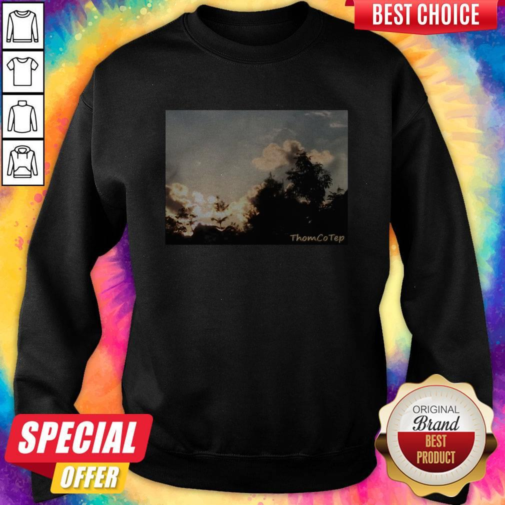 Top Black Thom Co Tep Sweatshirt