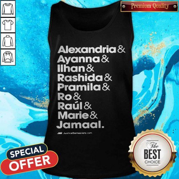 Alexandria And Ayanna & Iihan & Rashida & Pramila & Ro & Raul & Marie & Jamaal Tank Top