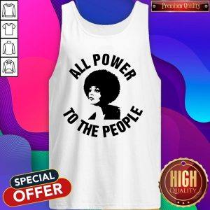 All Power To the People Angela Davis Tank Top