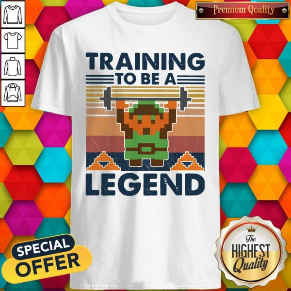 Training To Be A Legend Vintage Shirt