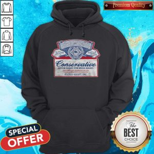 Conservative Never Sorry For Being Right Hoodie