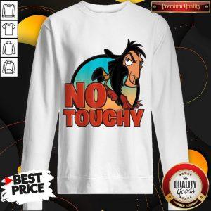 Disney Emperor's New Groove No Touchy Smirky Graphic Sweatshirt