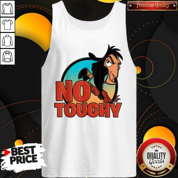 Disney Emperor's New Groove No Touchy Smirky Graphic Tank Top