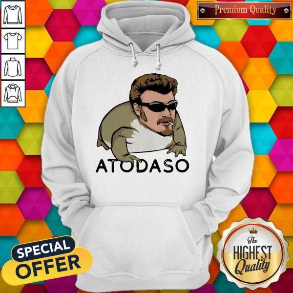 Funny Atodaso Face Hoodie