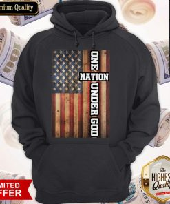 Good One Nation Under God Hoodie