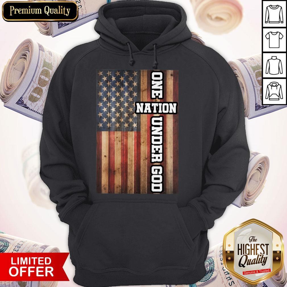 Good One Nation Under God Hoodie