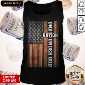 Good One Nation Under God Tank Top