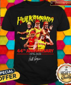 44th Anniversary 1976 2020 Signature Shirt