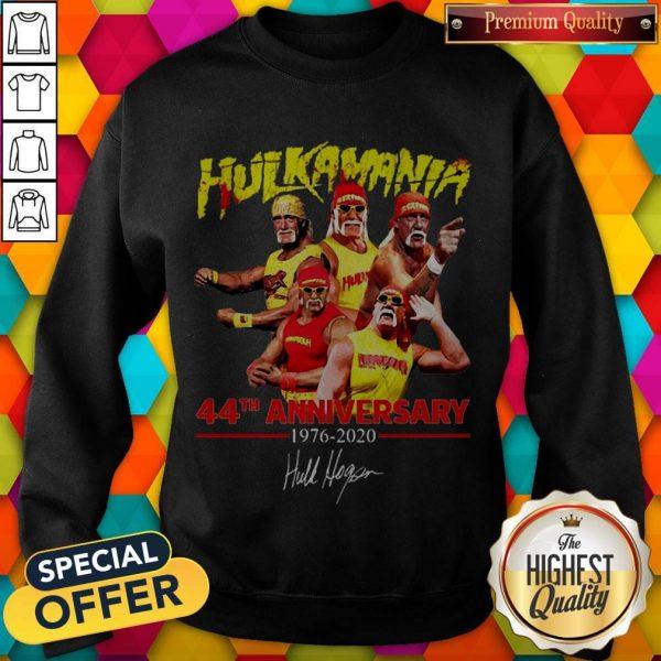 44th Anniversary 1976 2020 Signature Sweatshirt