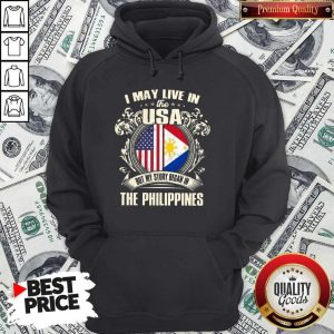 I May Live In The Usa But My Story Began In The Philippines Hoodiea