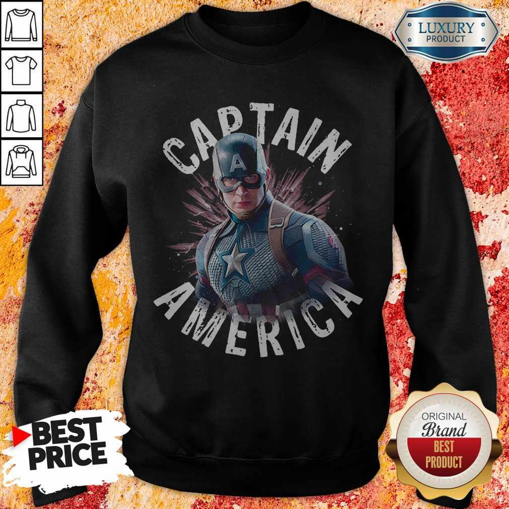 Marvel Avengers Endgame Captain America Sweatshirt