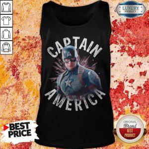 Marvel Avengers Endgame Captain America Tank Top
