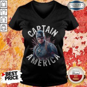 Marvel Avengers Endgame Captain America V- neck
