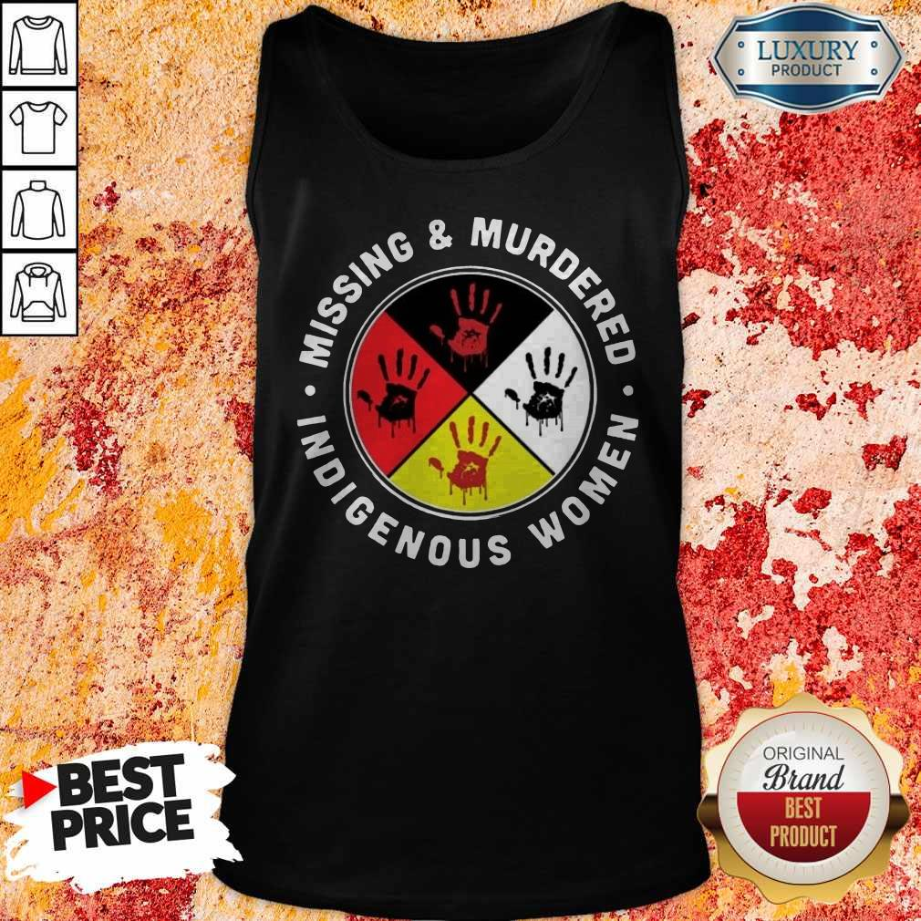 Missing And Murdered Indigenous Women Tank Top