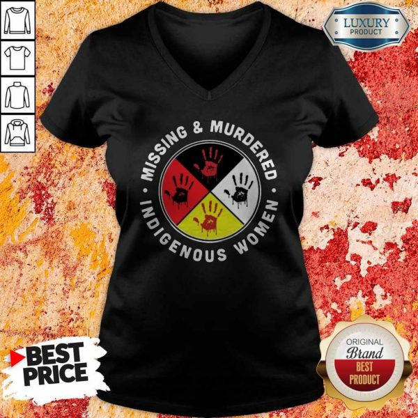 Missing And Murdered Indigenous Women V- neck