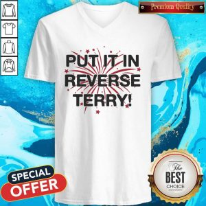 Nice Put It In Reverse Terry ShirtNice Put It In Reverse Terry V- neck