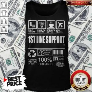 Official 1St Line Support Tank Top