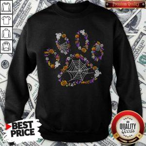 Official Dog Paw Halloween Sweatshirt