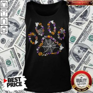 Official Dog Paw Halloween Tank Top