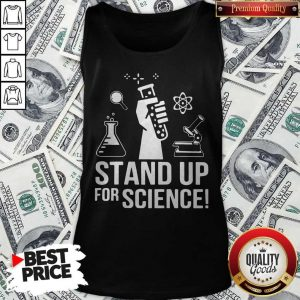 Official Stand Up For Science Tank Top