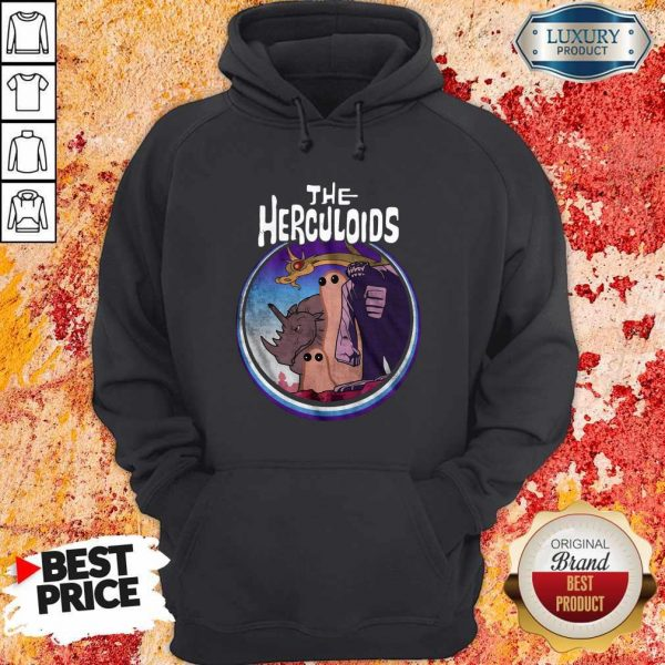 Official The Herculoids Funny Hoodiea