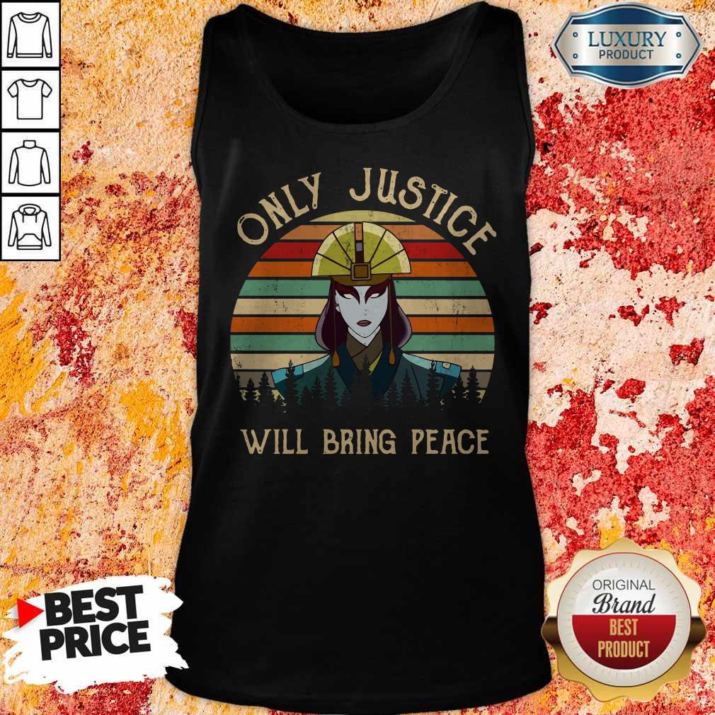 Only Justice Will Bring Peace Vintage Tank Top