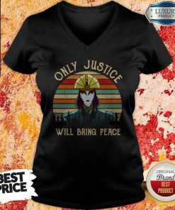 Only Justice Will Bring Peace Vintage V- neck