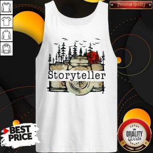 Premium Camera Storyteller Moon Tank Top