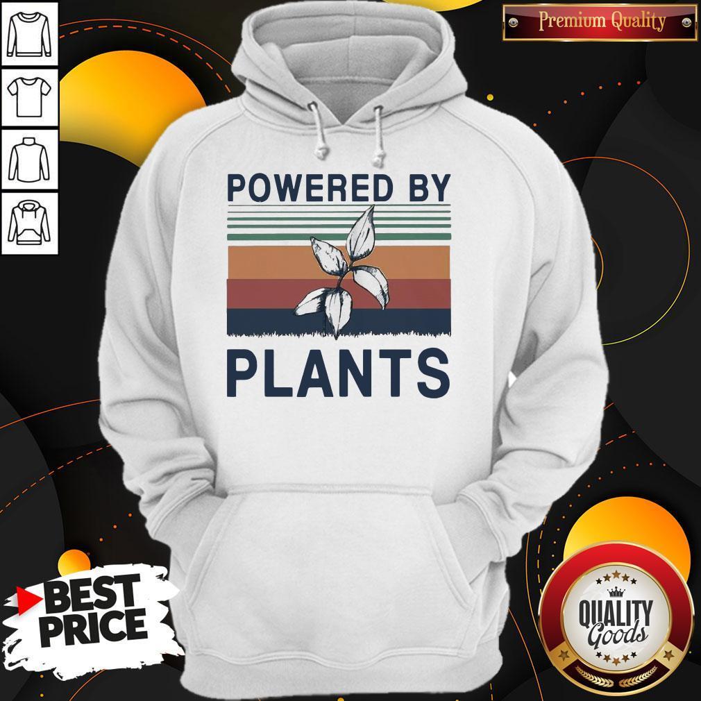 Pretty Powered By Plants Vintage Hoodie