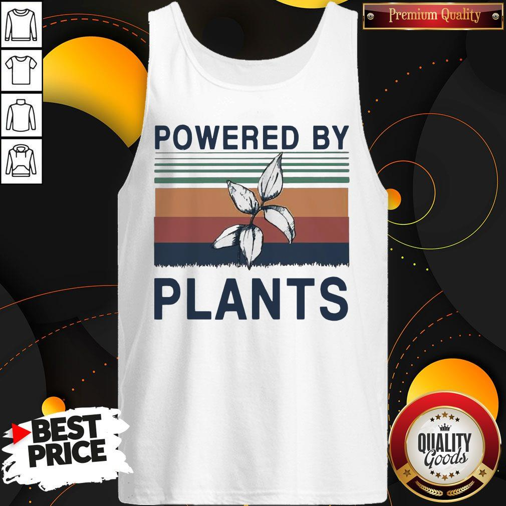 Pretty Powered By Plants Vintage Tank Top