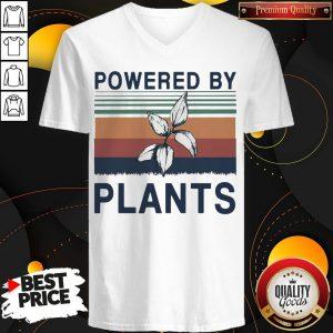 Pretty Powered By Plants Vintage V- neck