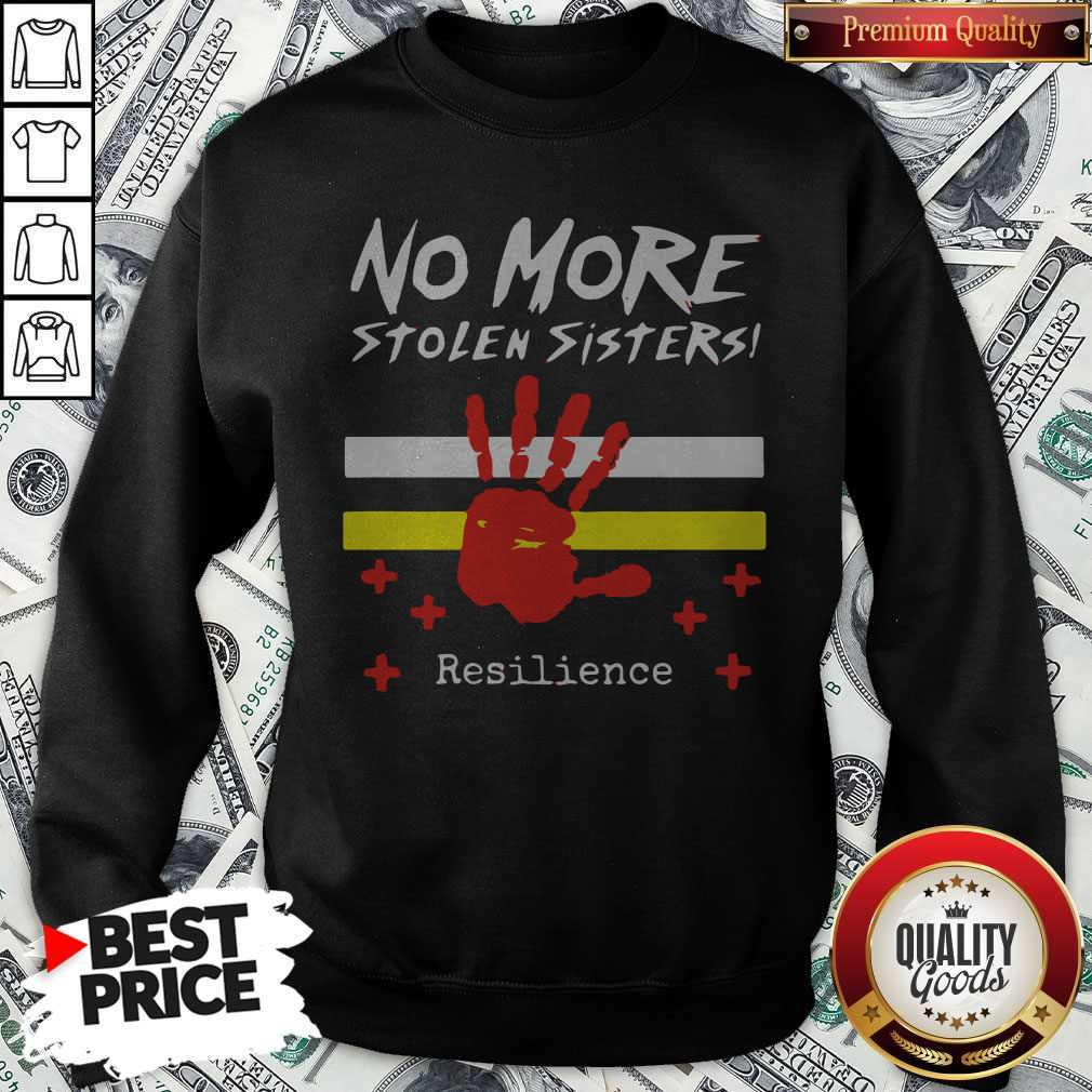 Printhand No More Stolen Sisters Resilience Sweatshirt