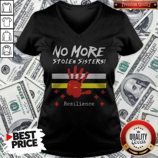 Printhand No More Stolen Sisters Resilience V- neck
