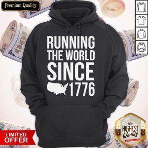 Running The World Since 1779 Hoodiea