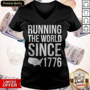 Running The World Since 1779 V- neck