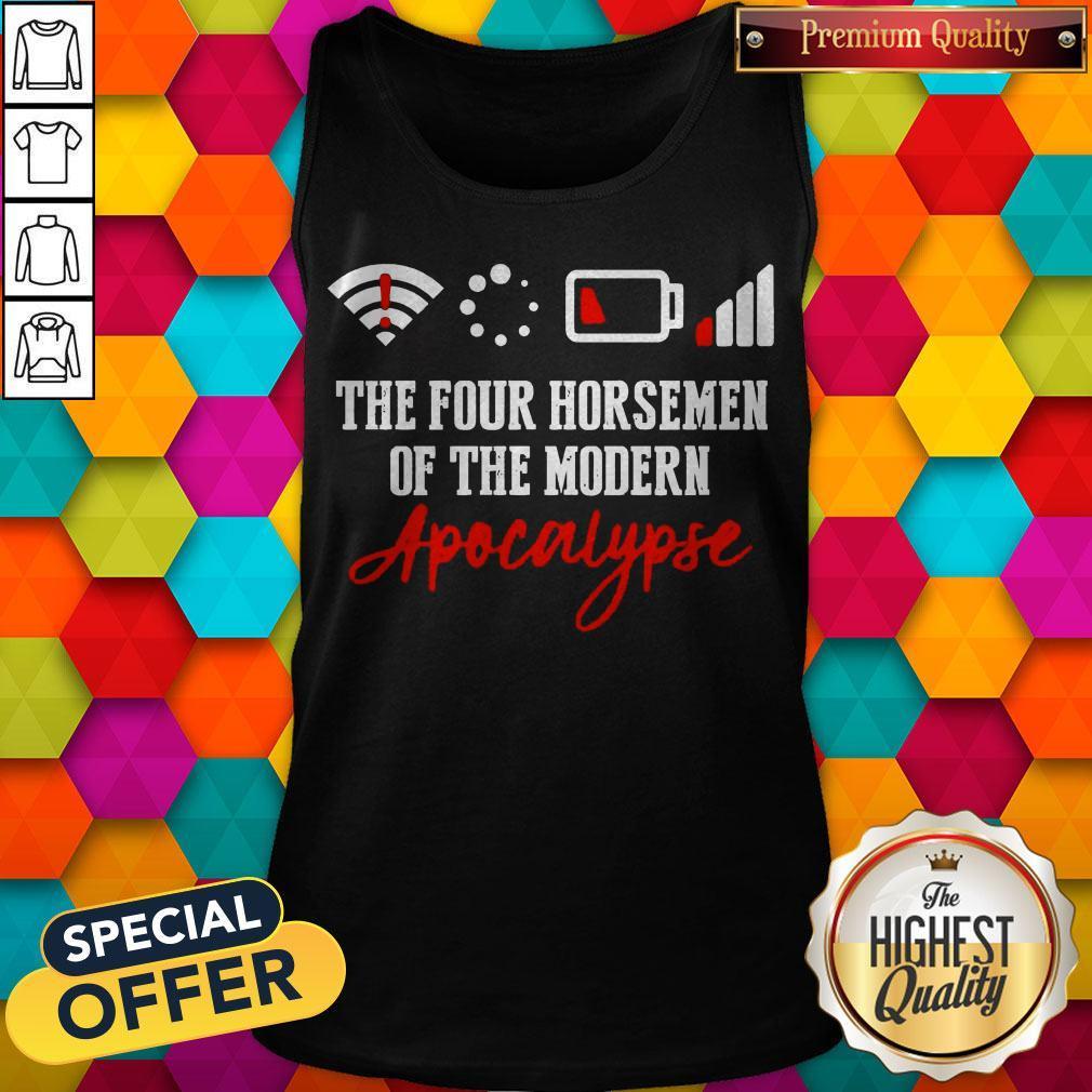 The Four Horsemen Of The Modern Apocalypse Tank Top