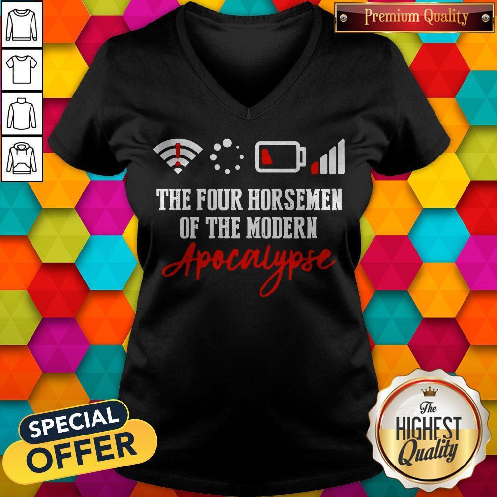 The Four Horsemen Of The Modern Apocalypse V- neck
