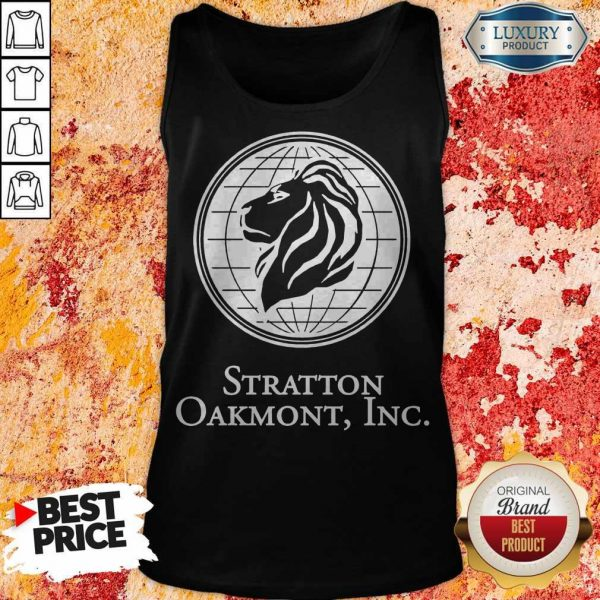 The Wolf Of Wall Street Stratton Oakmont Inc Tank Top