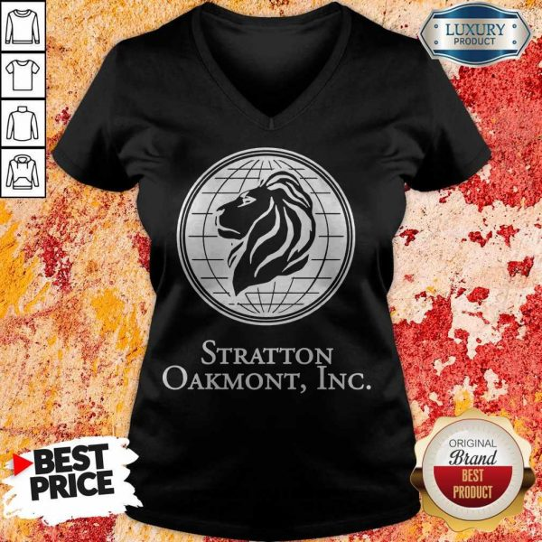 The Wolf Of Wall Street Stratton Oakmont Inc V- neck