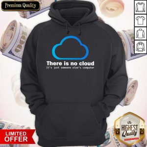There Is No Cloud It'S Just Someone Else'S Computer Hoodiea