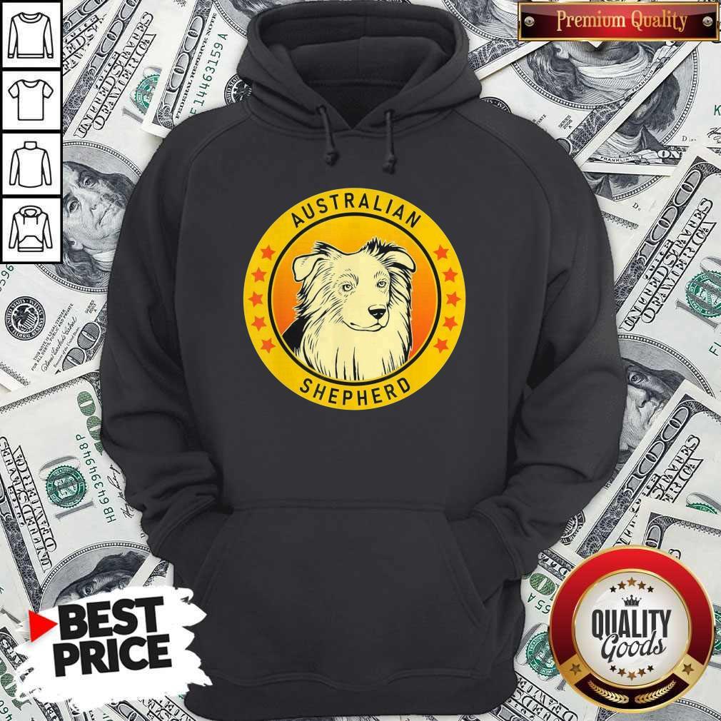 Top Australian Shepherd Dog Hoodie
